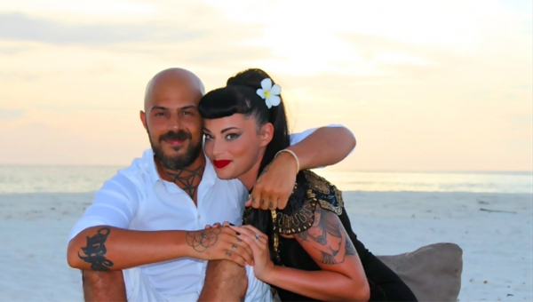 Zeldiva Luxury wishes Vicky Fallon and Abz Love on their engagement in the Maldives