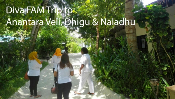 Diva FAM Trip to Anantara Veli, Dhigu & Naladhu