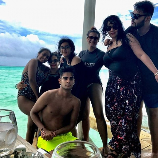 Ajay Devgn and Kajol head to Maldives for their family Vacation