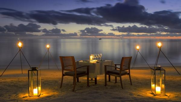Unique Sandbank Pop Up Restaurant At Baros Maldives