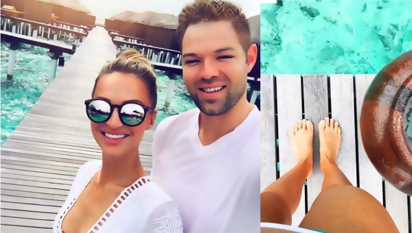 Former Miss South Africa is Enjoying Maldives Holiday with Mr South Africa