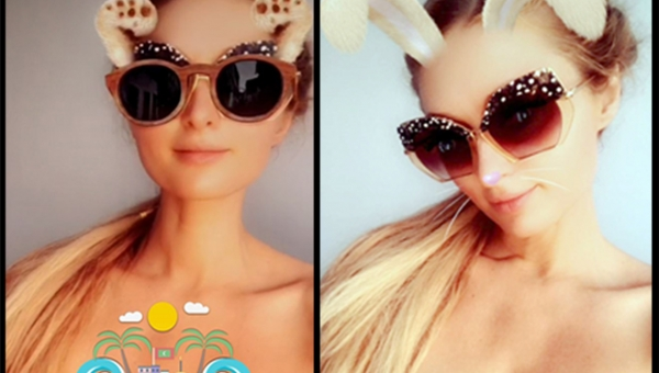 Paris Hilton appears topless in Maldives