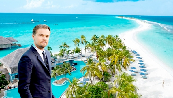Titanic Star Leonardo DiCaprio Enjoying In Maldives