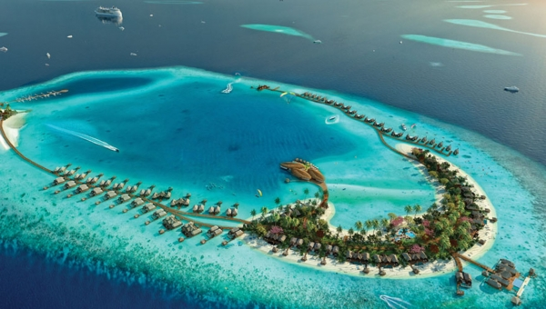 """<p style=""""text-align: justify;""""><span style=""""font-size: 10pt;"""">The exclusive 5-star Waldorf Astoria Ithaafushi resort meaning &ldquo;Pearl&rdquo; in native Maldivian tongue, is set to become a destination resort in the Maldives, catering to the individual needs of its discerning guests. The development consist of 3 pristine islands, surrounded by the crystal clear azure waters of the Indian Ocean. The resort has 138 guest villas, ranging from 1, 2 and 3 bedroom villas and 4 bedroom presidential suite, carefully positioned and orientated to guarantee guest exclusivity and privacy and unsurpassed views over the ocean.</span></p> <p style=""""text-align: justify;""""><span style=""""font-size: 10pt;"""">Approximately 23 kilometres from Velana International Airport (about 20 minutes away from the Maldivian capital of Male) Waldorf Astoria Maldives will offer the best of both worlds &ndash; an exclusive, charming escape with easy access to the mainland. The resort will boast 10 dining outlets, including nine specialty restaurants, providing guests with a selection of unique experiences.&nbsp;</span></p> <p style=""""text-align: justify;""""><span style=""""font-size: 10pt;"""">With an area of approximately 2,000 square metres, the resort&rsquo;s spa will offer both indoor and outdoor facilities, including an extensive outdoor bathing circuit. Other facilities at the spa will include two&nbsp;single treatment rooms, four&nbsp;double treatment rooms, a&nbsp;VIP spa suite, a Hammam suite, four resting pavilions, a vitality pool, a beauty salon, and&nbsp;an indoor and outdoor mind and body studio. A&nbsp;gym, an outdoor fitness centre, aqua spinning classes and an overwater yoga platform will complement the spa&rsquo;s offerings.</span></p> <div style=""""text-align: justify;""""> <p><span style=""""font-size: 10pt;"""">The Maldives is famous for its natural beauty and world-renowned dive sites. Consisting of approximately 1,190 islands and sandbanks, encircled by a lagoon of crystal clear water, it is home to"""