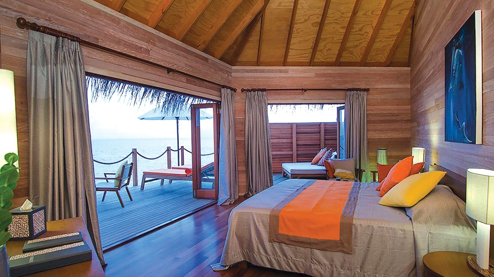 2 Bedroom Overwater Suite Mirihi Island Resort