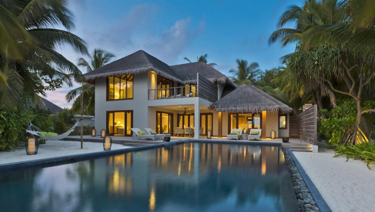 Three Bedroom Beach Residence with Pool