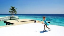 FIRST ICE RINK IN MALDIVES