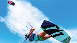 Kitesurfing and Surfing