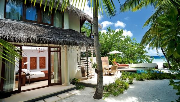 double storey beach villas