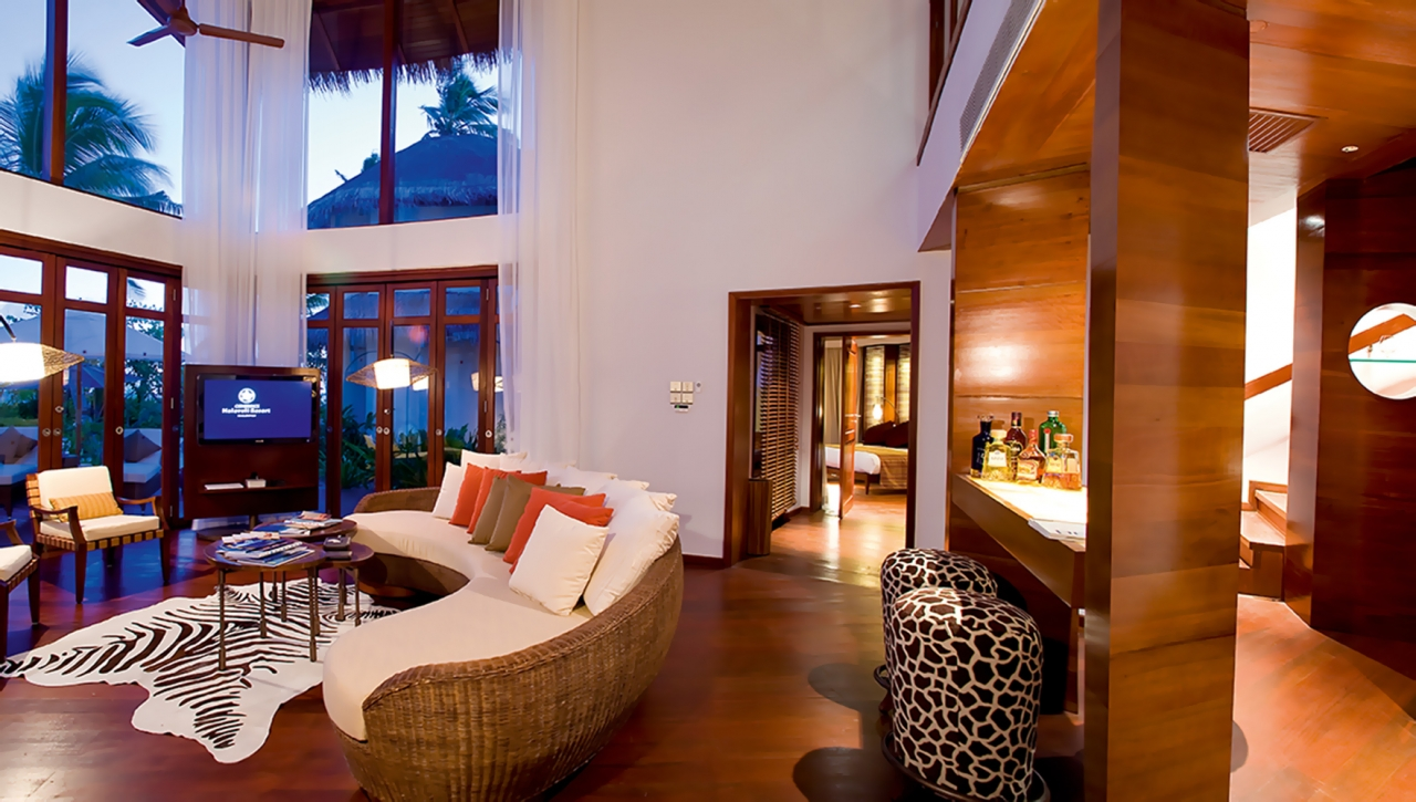 presidential beach villa