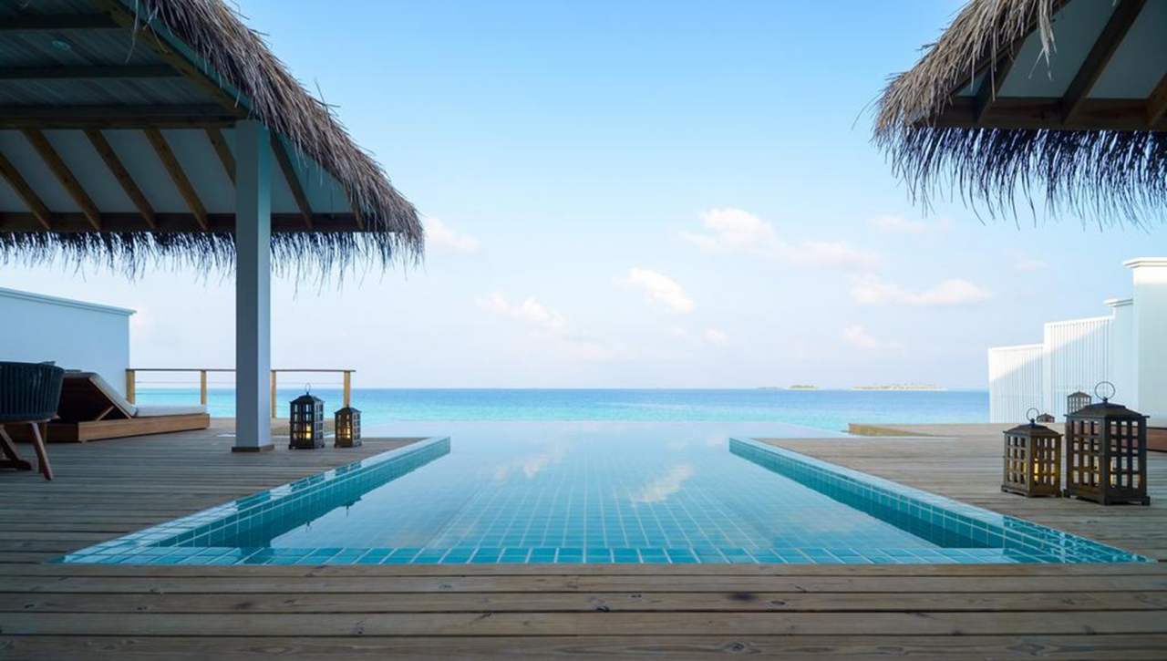 Two Bedroom Ocean Lagoon Pool Villa