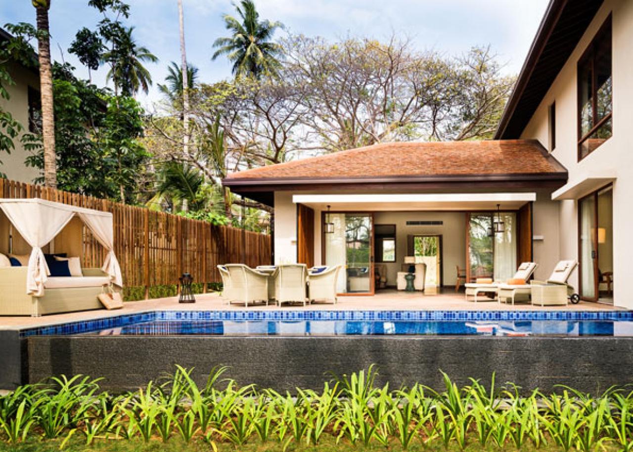 Two Bedroom Garden Pool Villa