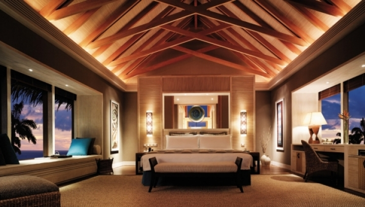 Water Villa - Bedroom