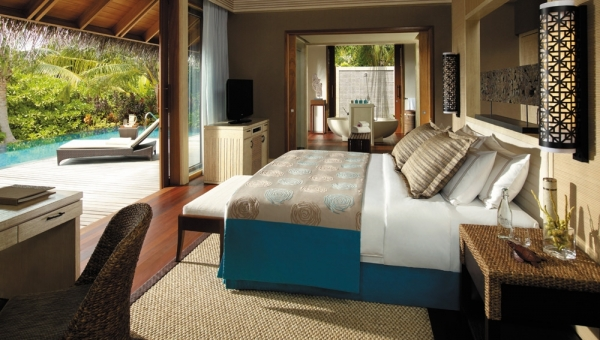 Beach Villa with Private Pool - Bedroom