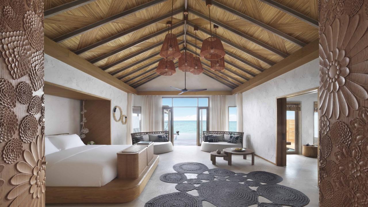 Three Bedroom Water Sunset Villa