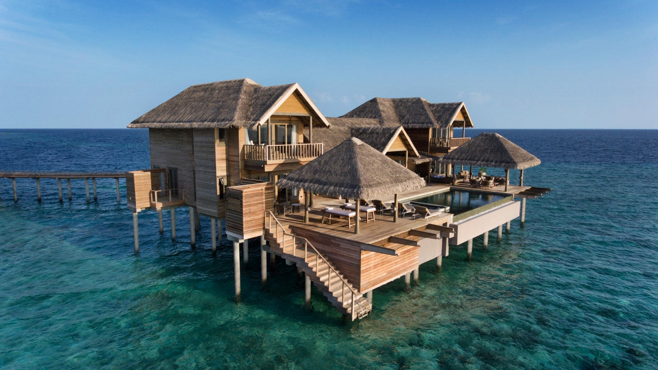 Four Bedroom Overwater Pool Residence