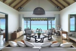 Over Water Pool Suite