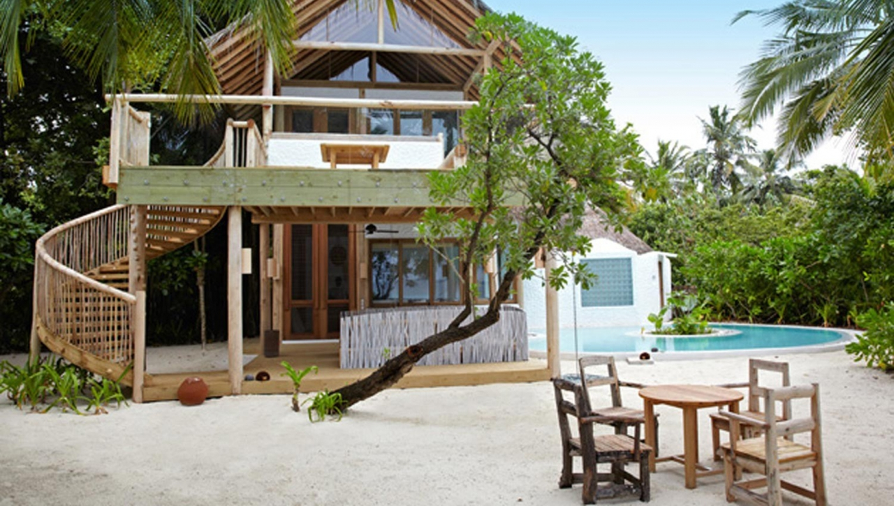 Soneva Fushi Villa Suite 4 Bedroom with Pool