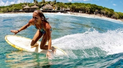 Surfing in the Baa Atoll