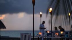 POOL ISLAND DINNER UNDER THE STARS