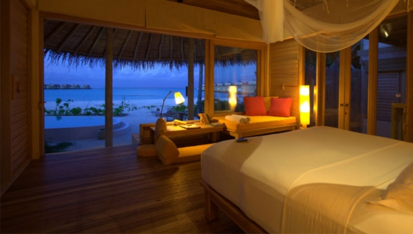 Two Bedroom Lagoon Beach Villa with Pool Interior