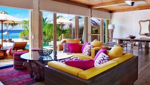 Two Bedroom Ocean Beach Villa with Pool Interior