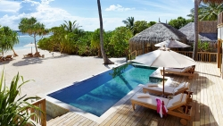 Two-Bedroom Ocean Beach Villa with Pool