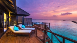 Sunset Horizon Water Villa