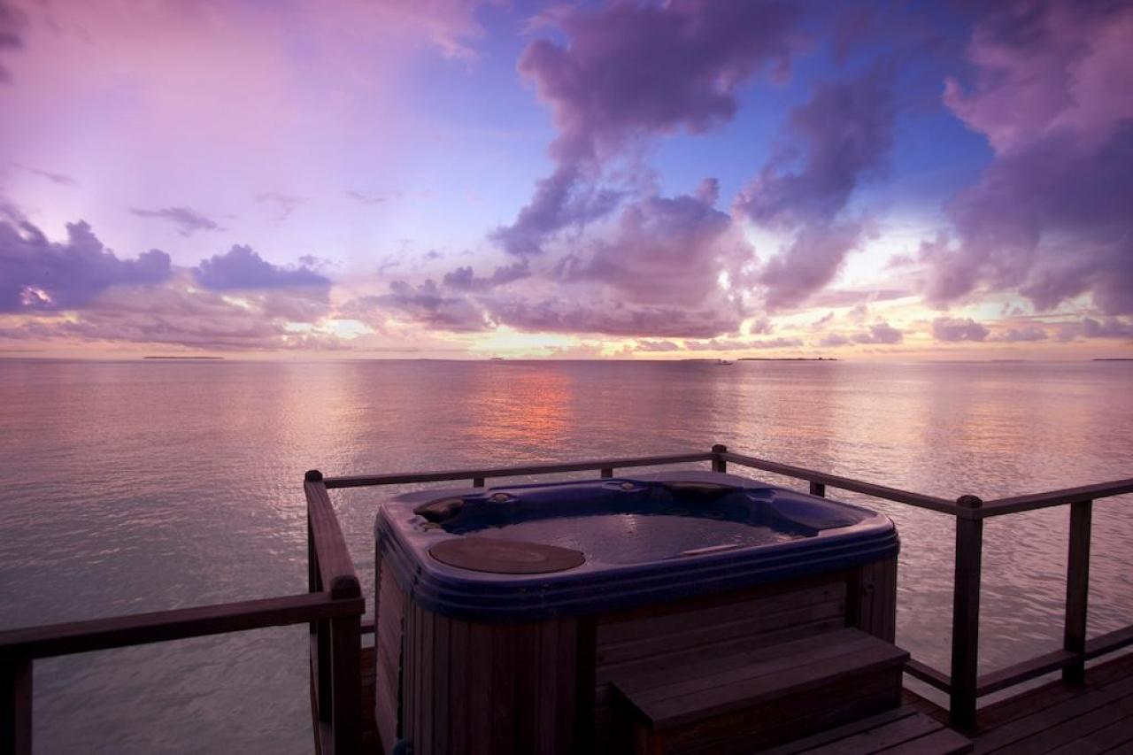 Sunset Horizon Water Villa