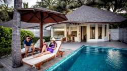 Two Room Luxury Beach Front Pool Villa