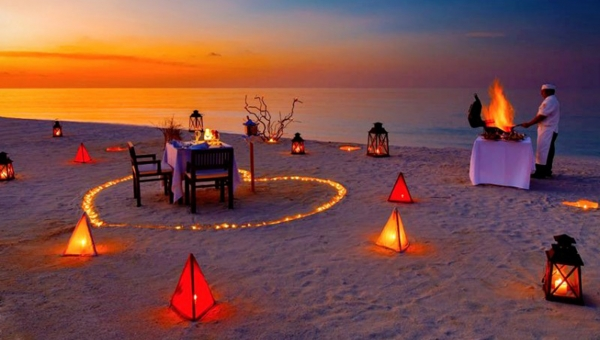 Private Beach BBQ Dinner