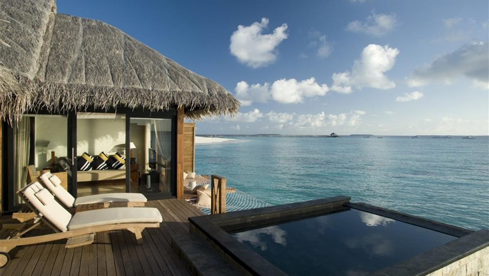 Sunset Water Villa with Private Infinity Pool