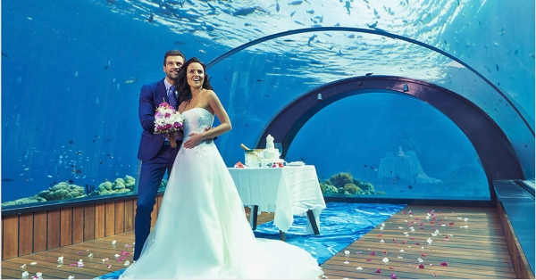 Maldives Wedding Vow Renewal Ceremony
